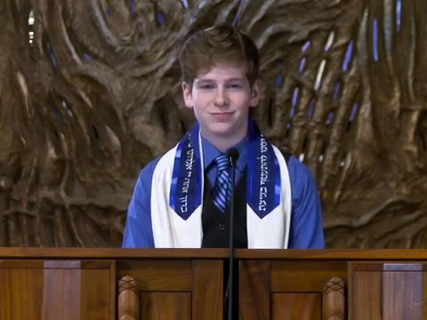 WATCH: Teen Uses Bar Mitzvah Speech to Call for Marriage Equality