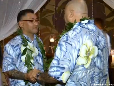 First Same-Sex Couples Marry in Hawaii
