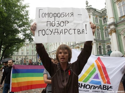 Russia's High Court Declares 'Gay Propaganda' Ban Constitutional