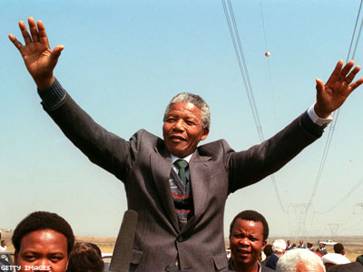 Nelson Mandela, Humanitarian and HIV Advocate, Dies at 95