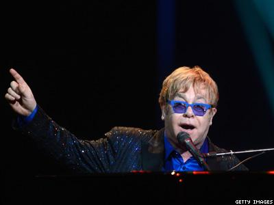 WATCH: Elton John Slams 'Inhumane, Isolating' Anti-LGBT Laws In Russia