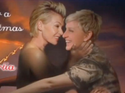 WATCH: Ellen and Portia Recreate Bound 2