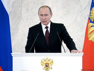 Defending Anti-LGBT Laws, Putin Slams 'Genderless, Fruitless Tolerance'