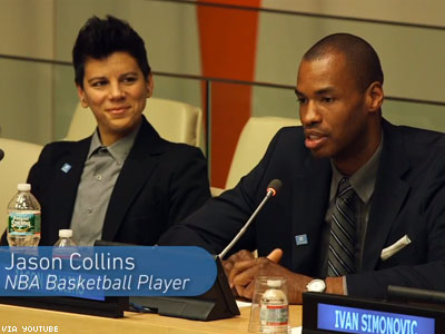 LGBT Athletes Share Their Stories at United Nations
