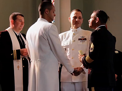 WATCH: Gay Military Couple Share 'A Story About Love'