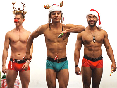 WATCH: Sexy Santas Want You to 'Get Enrolled' in Obamacare