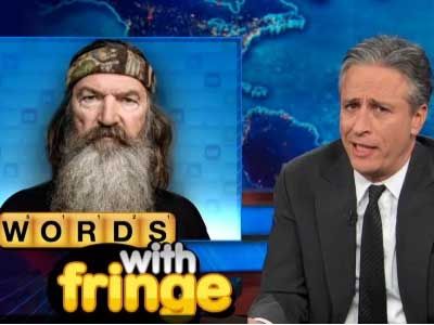 WATCH: Jon Stewart 'Sort of' Stands With Fox News in Defending Duck Dynasty Star