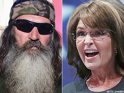 Sarah Palin's Foot in Her Mouth Over Duck Dynasty