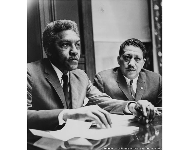 633Bayard Rustin And Eugene Reed 1
