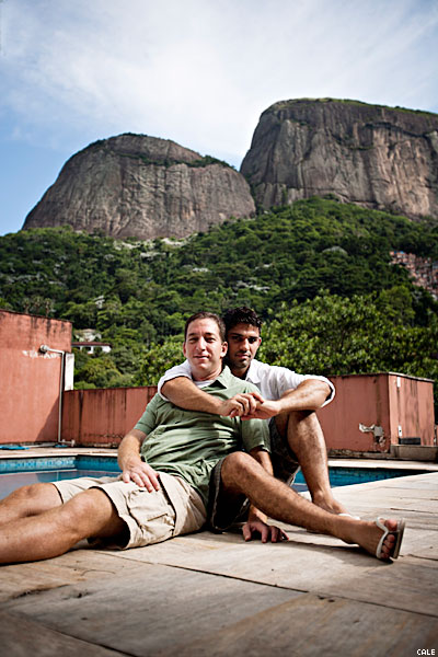 Greenwald And Miranda At Home In Rio De JaineroX400DEEP 0 0