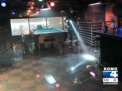 Arsonist Sets Fire to Seattle Gay Club on New Year's Day