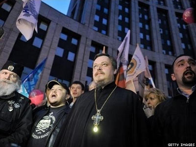 Russian Church Leader Proposes Criminalizing Homosexuality