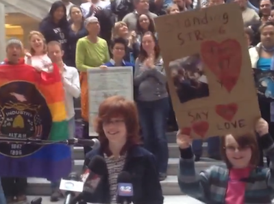 WATCH: 12-Year-Old Gets to the Heart of Marriage Equality in Utah