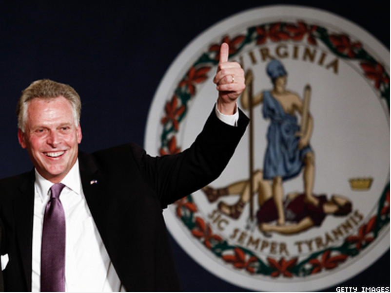 Va. Gov. McAuliffe Sworn In, Signs Nondiscrimination Order