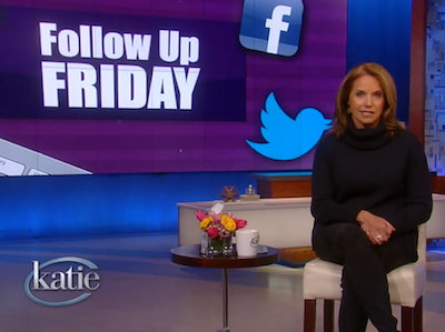 WATCH: Katie Couric Responds to Invasive Trans Questions
