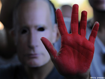 Op-ed: Russia Last in Race for Human Rights