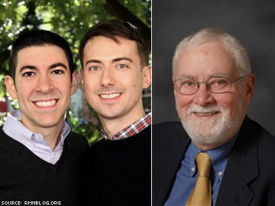 Former Yale Divinity Dean to Be Tried for Officiating Son's Same-Sex Marriage