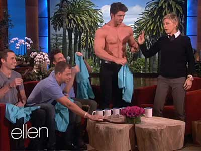 These Four College Dudes Are More Obsessed with Ellen Than You
