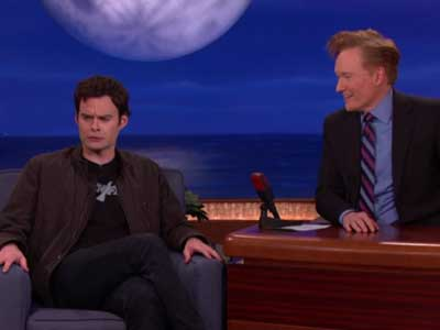 WATCH: Bill Hader on Aggressive Stefon Fans and Kissing Ty Burrell