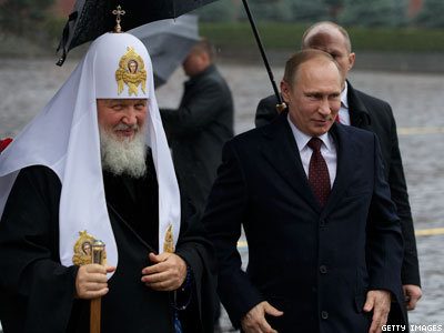 Russian Church Leader Urges Lawmakers to Block Marriage Equality