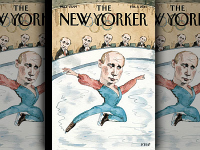 New Yorker Cover Lampoons Putin