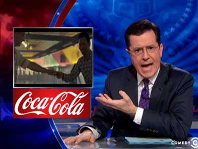 WATCH: Stephen Colbert Beautifully Rebukes Coke Ad Controversy