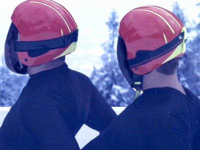 WATCH: Two-Man Luge Proves Olympics Have Always Been a Little Gay