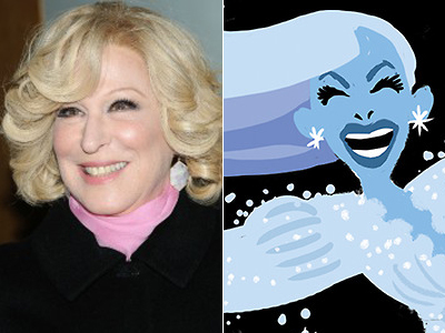 Early Frozen Designs Inspired by Gay Icon Bette Midler