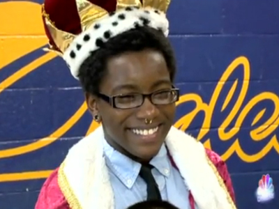 Teen Becomes First Out Trans Student Named Homecoming King in N.C.