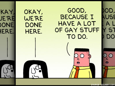 Dilbert Skewers Indian Court's Antigay Ruling, Scares Off Some Newspapers