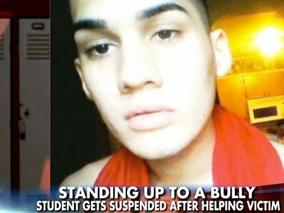 WATCH: Teen Suspended for Defending Bullied Gay Classmate