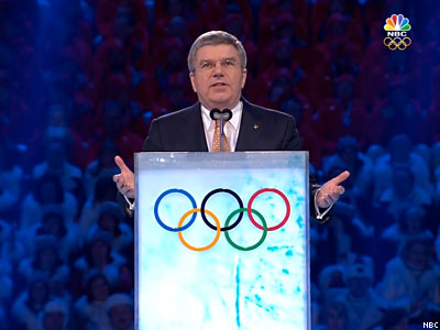 NBC Criticized for Editing of Olympics Speech