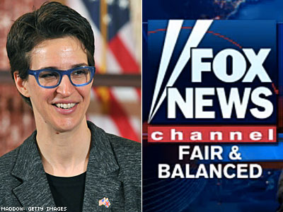 Maddow Again Beats Fox News in Key Audience Demographic
