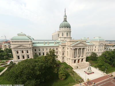 Indiana Marriage Ban Won't Be on 2014 Ballot