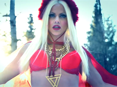 WATCH: Drag Race Star Courtney Act Sends Her Love to Russia