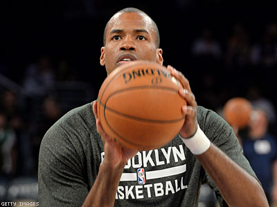 Jason Collins Makes First NBA Appearance Since Coming Out