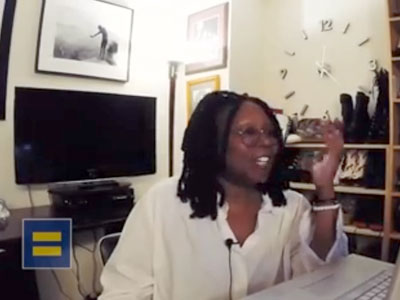 Whoopi Condemns Anti-LGBT Laws in Africa