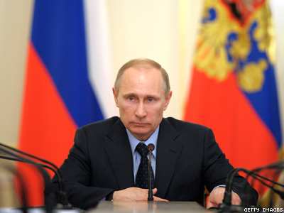 Putin Nominated for Nobel Peace Prize