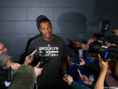 Jason Collins Will Remain With Brooklyn Nets