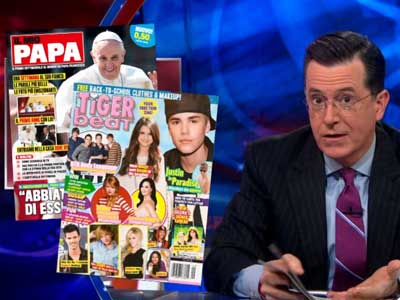 WATCH: The Pope Has His Own Version of Tiger Beat Magazine