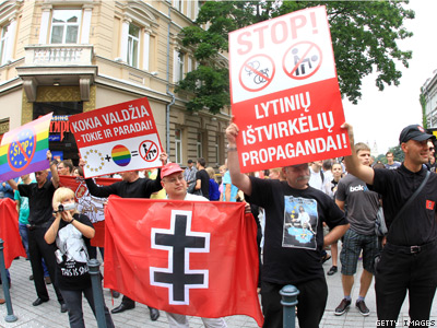 Will Lithuania Ban Pride Parades?