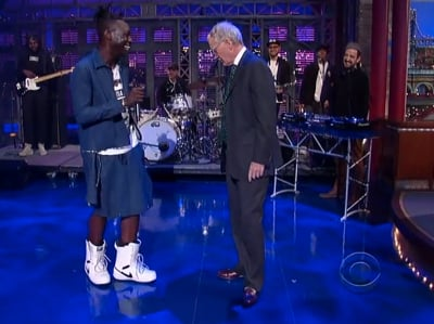 WATCH: Out Rapper Le1f on Letterman