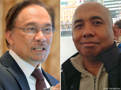 Pilot of Missing Plane Linked to Malaysian Pol Who Faced Sodomy Charges