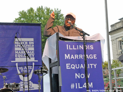Ill. Marriage Equality Pioneer Dead at 65