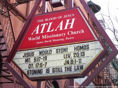 WATCH: Lesbian Visits Harlem Church for Her Stoning
