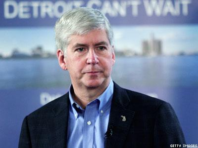 Michigan: Gov. Snyder Avoids Concrete Answers on Marriage