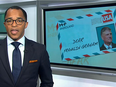 MSNBC's Jonathan Capehart Rips Billy Graham's Homophobic Son for Supporting Putin