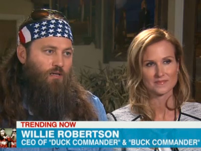 WATCH: In Case You Weren't Sure, Another Duck Dynasty Star Thinks Gays Are Going to Hell