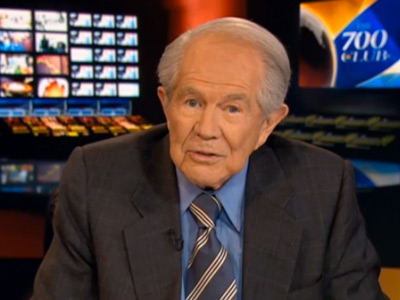 WATCH: Jesus Wouldn't Bake Gay Wedding Cake, Says Pat Robertson