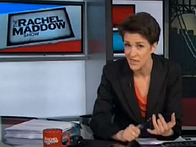 WATCH: Rachel Maddow Accuses New Jersey BridgeGate Report of 'Slut-Shaming'
